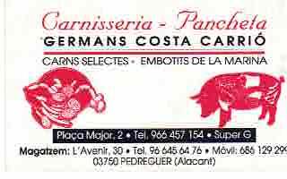 Carnisseria Pancheta